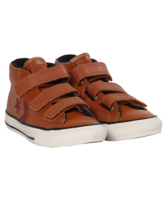 Zapatillas para niï¿œo, color marrï¿œn , marca CONVERSE