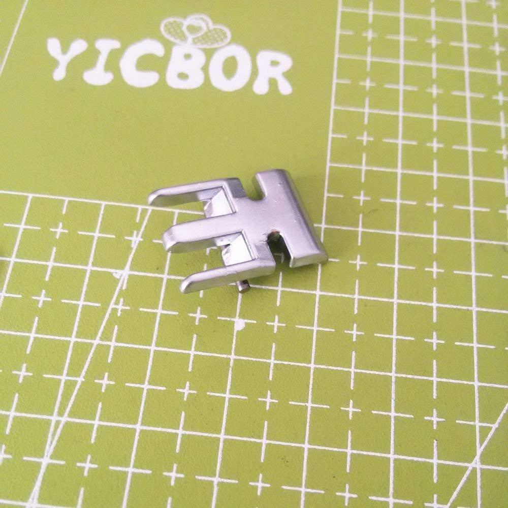 YICBOR Prensatelas de cremallera para máquina de coser Pfaff 98-694884-00 (820248-096): Amazon.es: Hogar