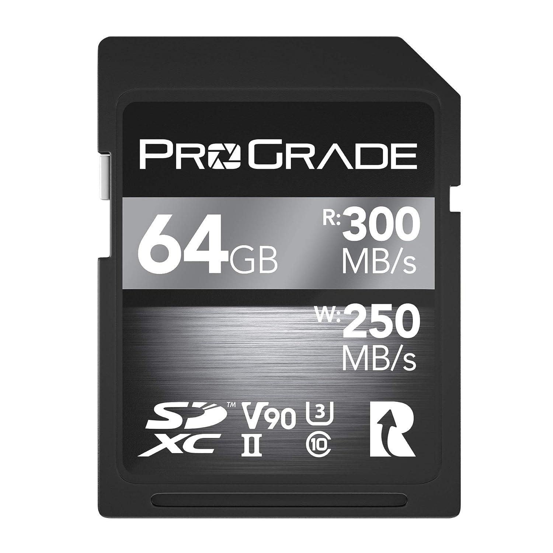 ProGrade Digital SDXC UHS-II V90 Memory Card (128GB)