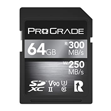 ProGrade Digital SDXC UHS-II V90 Memory Card (128GB)