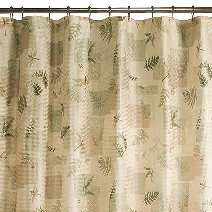 Maytex Julia Fabric Shower Curtain