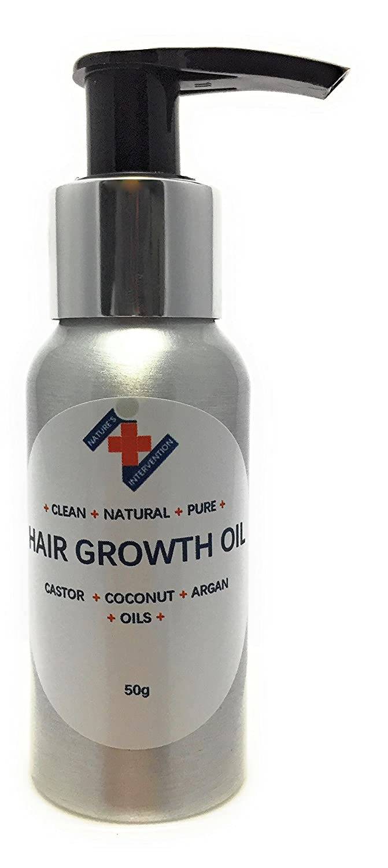 Este aceite para el crecimiento del cabello es una mezcla de aceite de ricino de la más ...