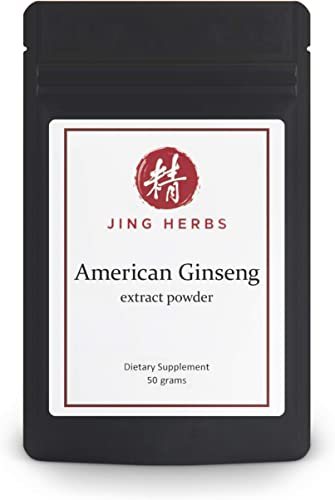 Jing Herbs American Ginseng Extract Powder 50 Grams