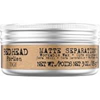 Bed Head for Men by Tigi Matte Separation Workable Hair Styling Wax 85 g