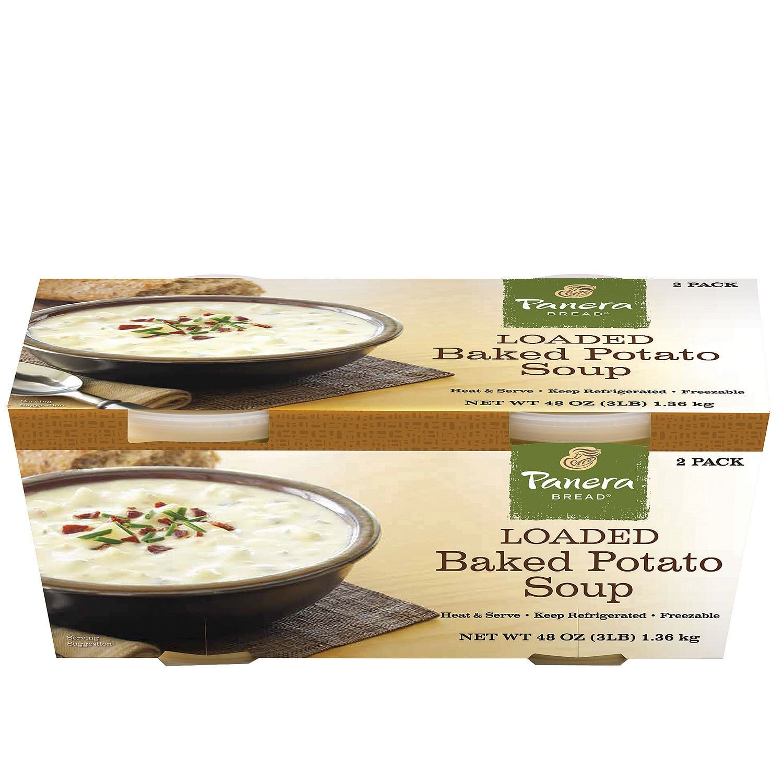 Amazon.com : Panera Bread Broccoli Cheddar Soup (24 oz. tubs, 2 pk ...