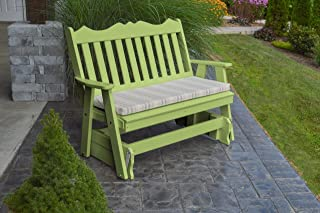 product image for Outdoor Poly 5 Foot Royal English Glider - Tropical Lime