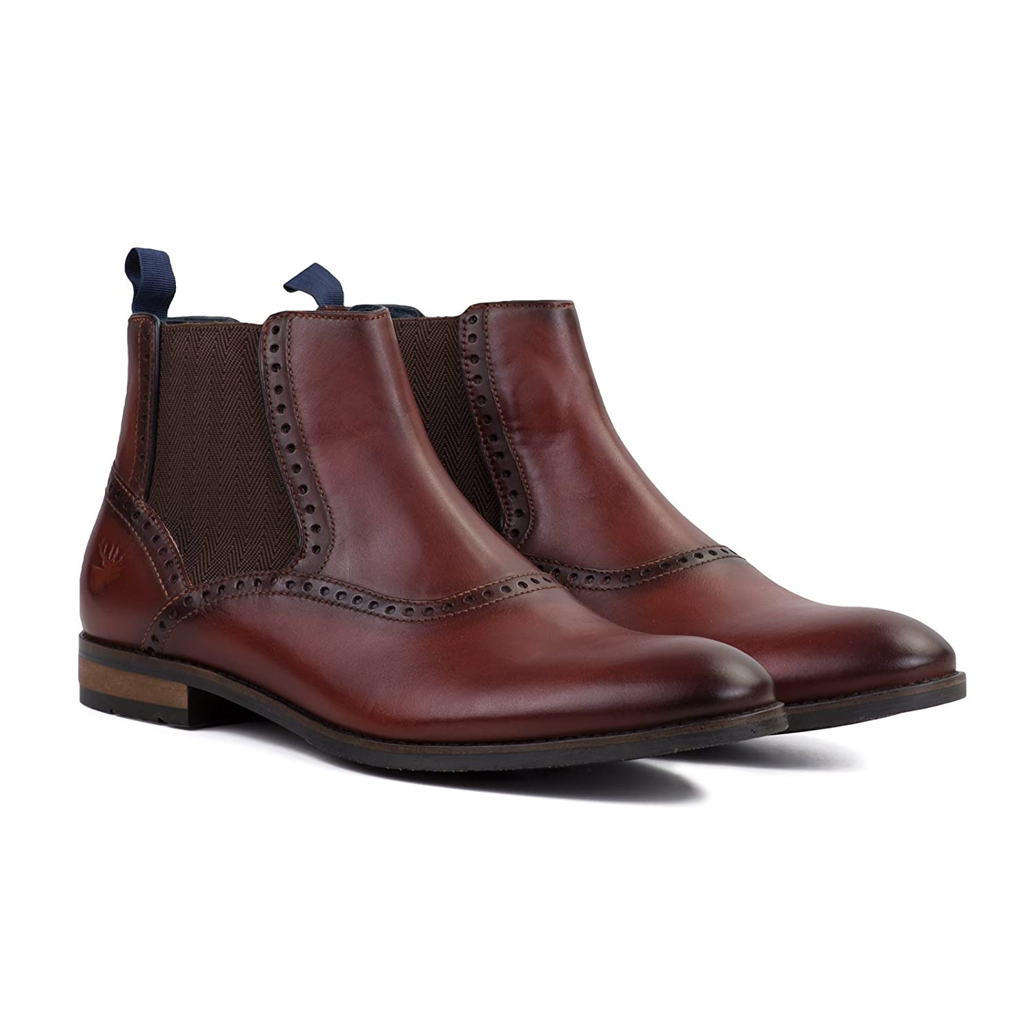 Goodwin Smith Bailey Herren Chelsea Stiefel Mahogany