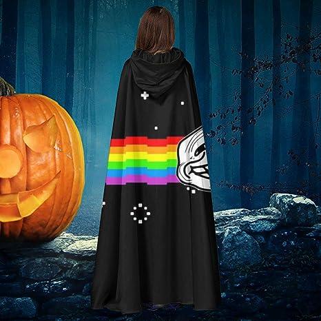 AISFGBJ Troll Face Nyan Cat Meme Unisex Navidad Halloween Bruja ...