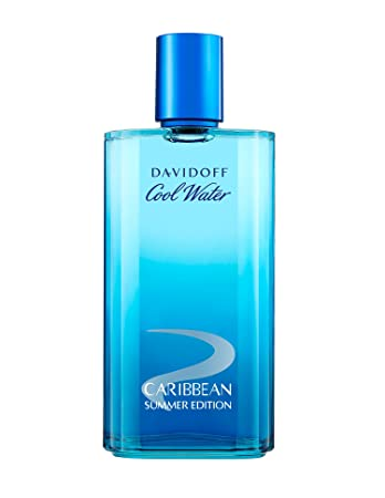 2b6d9b0874d Image Unavailable. Image not available for. Colour  Davidoff Cool Water Man  Summer Caribbean Edition