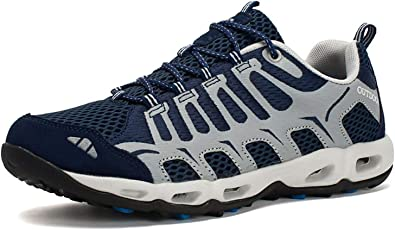 Zapatillas De Senderismo para Hombre Mujer Low Zapatos de Trekking Outdoor Impermeables Zapatillas de Deporte Transpirables Casual Zapatos Gimnasio Correr Sneakers 36-46 EU: Amazon.es: Zapatos y complementos