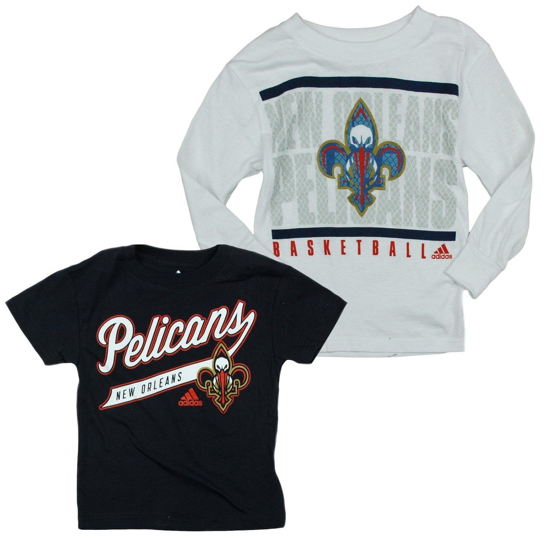 【人気ショップが最安値挑戦!】 NBA New Orleans Pelicans - Toddlers 3 - in New - - 1コンボ長袖Tシャツby adidas 4T B00TOZZQHE, 快適靴生活:d9cfb844 --- a0267596.xsph.ru