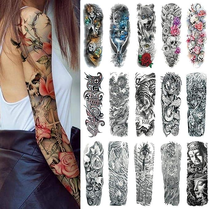 Etiquetas engomadas del tatuaje, juegos de cara de tatuaje Nombre ...