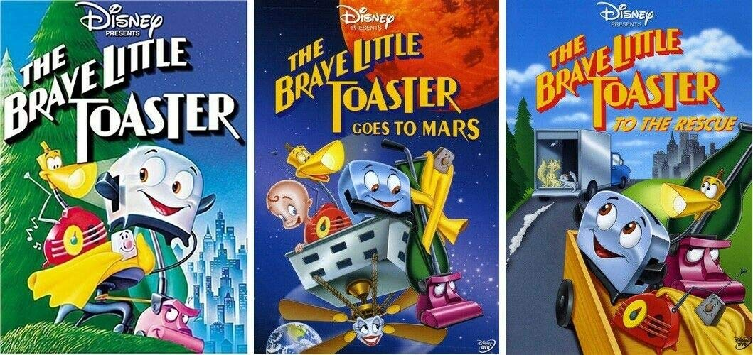 The Brave Little Toaster 1 2 3 Trilogy 3 DVD SET