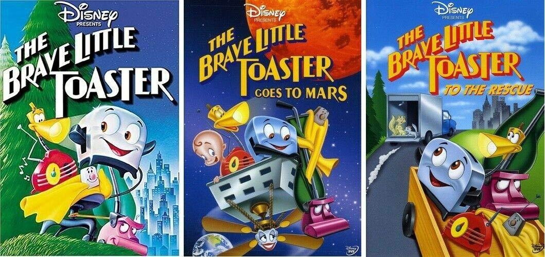 The Brave Little Toaster 1 2 3 Trilogy 3 DVD SET