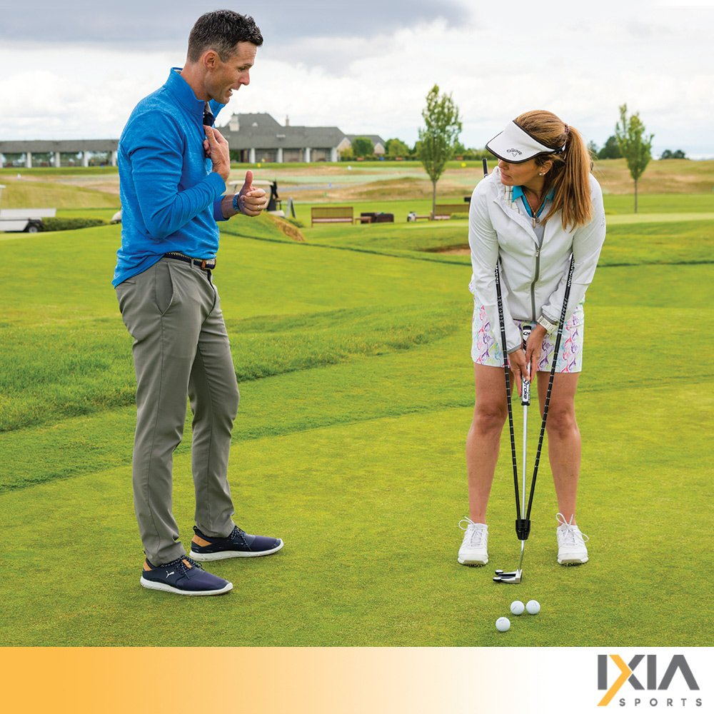 IXIA Sports True Pendulum Motion Golf Putting Trainer - Fits Any Putter - Detachable, Adjustable Length Alignment Rods - Promotes Perfect Posture - For ALL Levels, Juniors & Adult by IXIA Sports (Image #8)