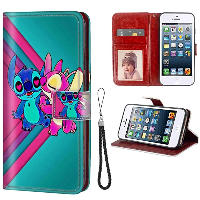 229a5bc16dc Image Unavailable. Image not available for. Color: Phone Wallet Case for  Apple iPhone ...