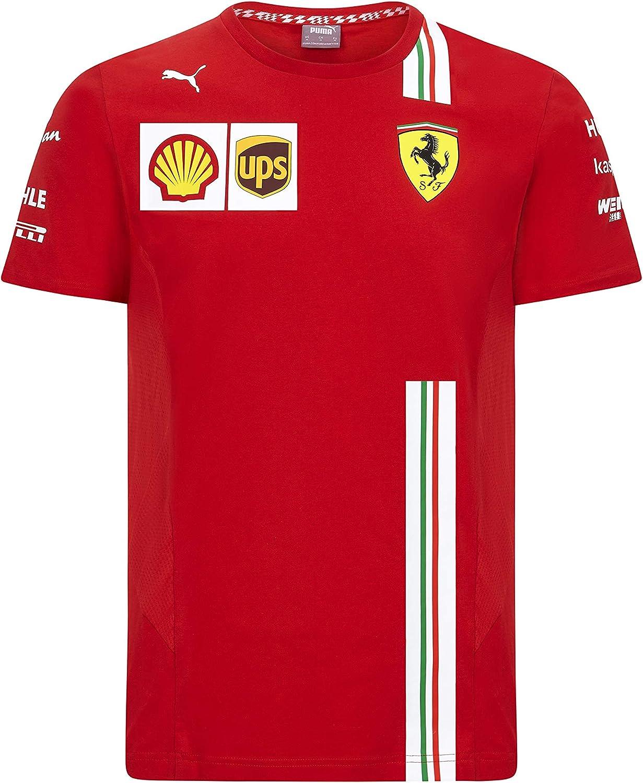 Puma Herren Ferrari Team T Shirt Amazon De Bekleidung