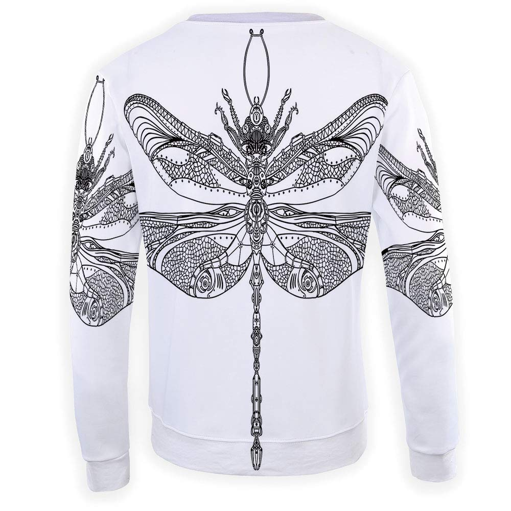 Unisex Dragon Sweatshirts Crewneck