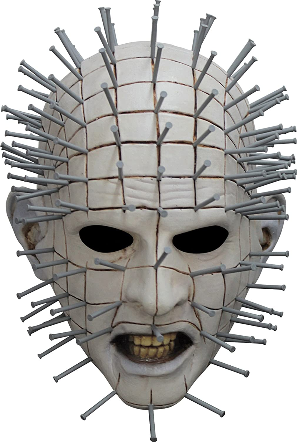 Men's Horror Hellraiser III Pinhead Latex Mask
