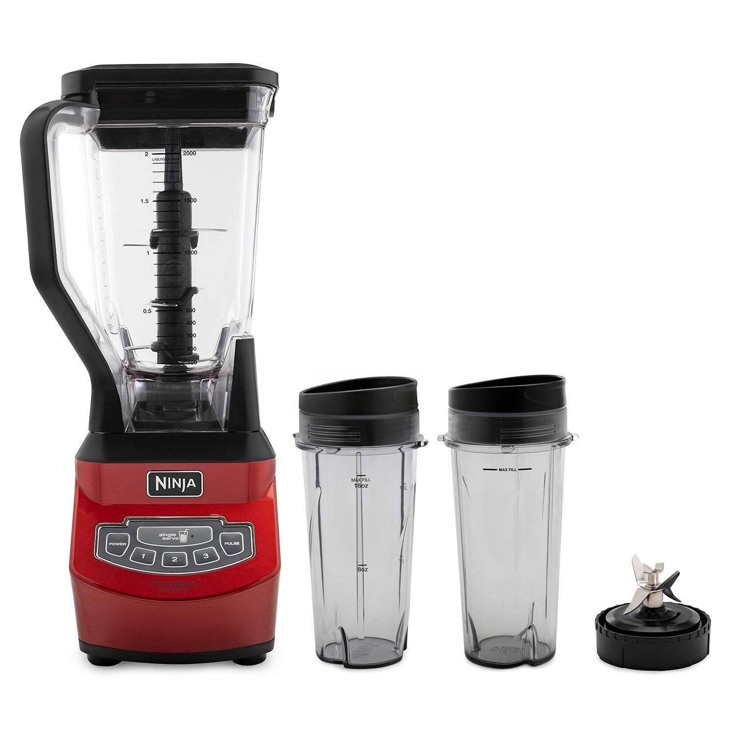 Amazon.com: Ninja Professional Blender with Nutri Ninja Two ...