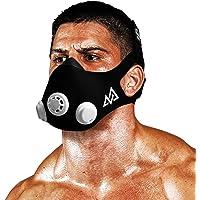 Training Mask 2.0 [Original Black Medium] Elevation Training Mask, Fitness Mask, Workout Mask, Running Mask, Breathing Mask, Resistance Mask, Elevation Mask, Cardio Mask, Endurance Mask for Fitness
