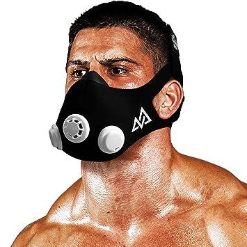 Training Mask Mascarilla de entrenamiento de elevación 2.0 Negro original Grande