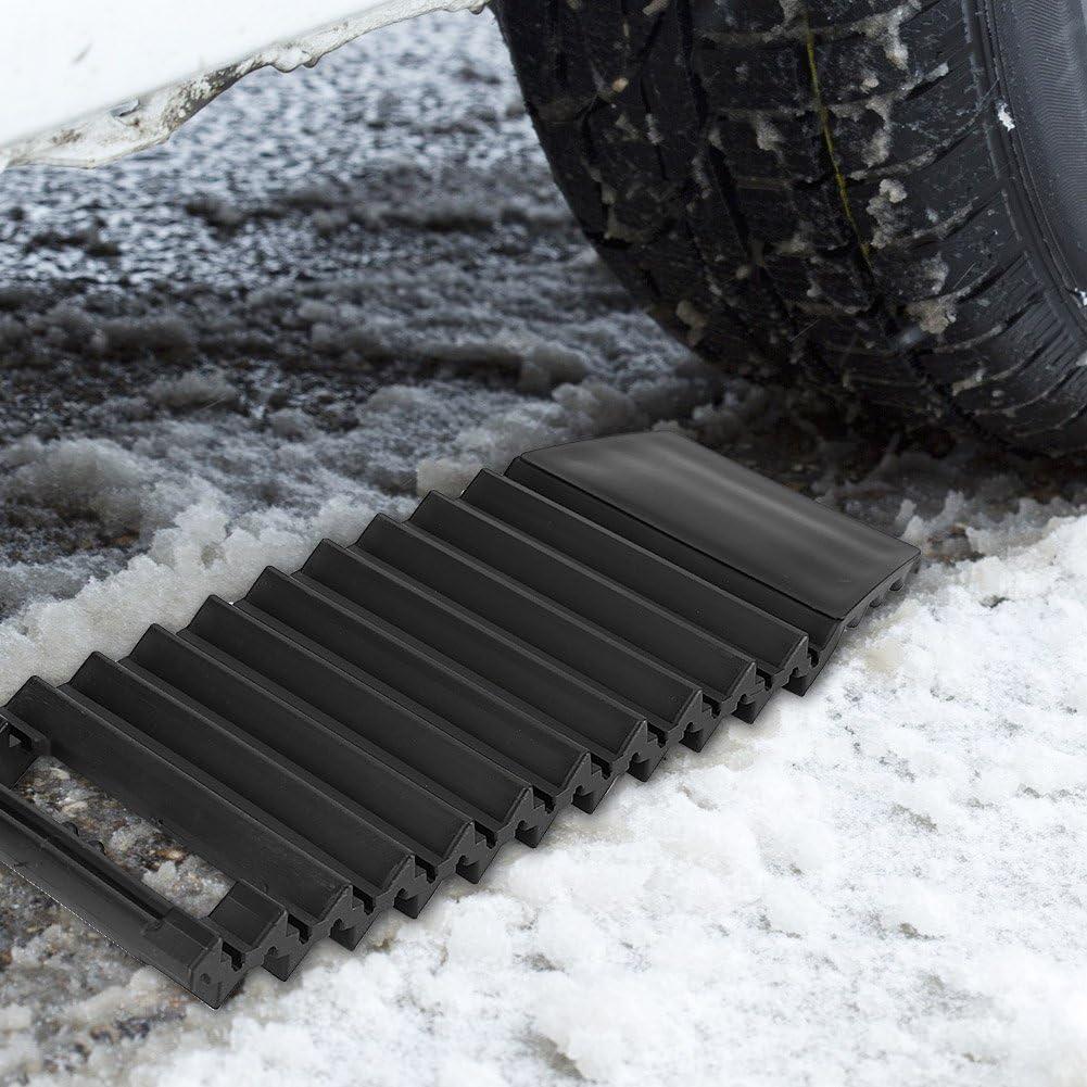per la trazione della ruota Tappetino antiscivolo universale in ABS per neve e fango.