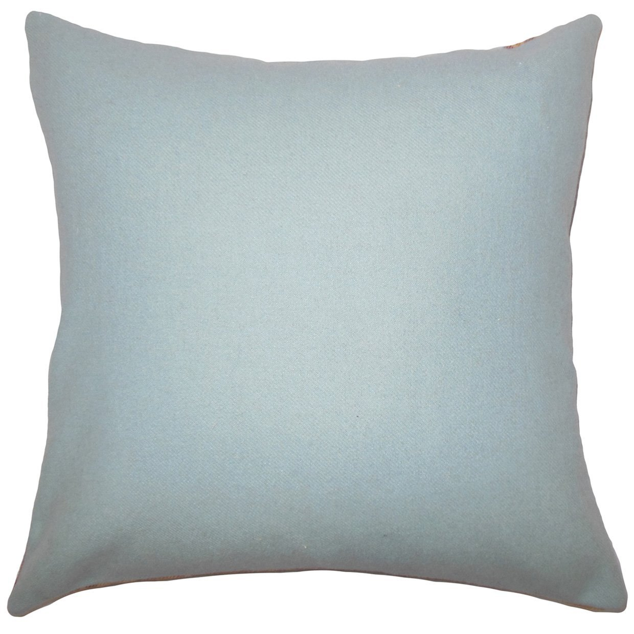 The Pillow Collection Yandel Solid Bedding Sham Blue King/20' x 36'