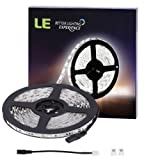Amazon Price History for:LE 16.4ft 300 SMD 5050 LEDs Flexible Strip Lights, Daylight White, Non-waterproof, 12 Volt, Indoor Party Christmas Holiday Festival Celebration Decoration
