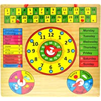 Munchkinz Time and Days Learning Board