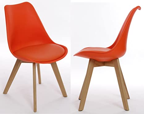 Sedie Ufficio Arancio : Charles jacobs sedia da ufficio tavolo coppia in arancione