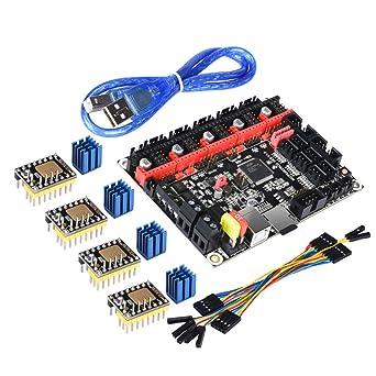 Amazon.com: BIQU SKR V1.3 TMC2130 - Placa de control (32 ...