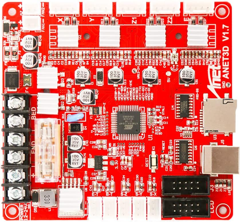 Kkmoon Anet A1284-base Control Board Mother V 1.7 3d Printer