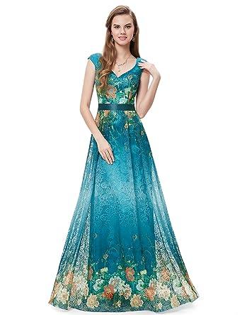 Evening party dress full length