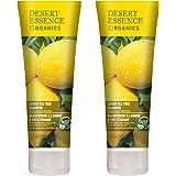 Desert Essence Lemon Tea Tree Shampoo - 8 Fl Oz - Pack Of 2 - Removes Excess Oil - Revitalizes Scalp - Strengthens…
