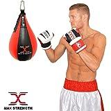 Q Sports 6ft Free Standing Heavy Duty Punch Bag Kick Boxing MMA Training Boxing