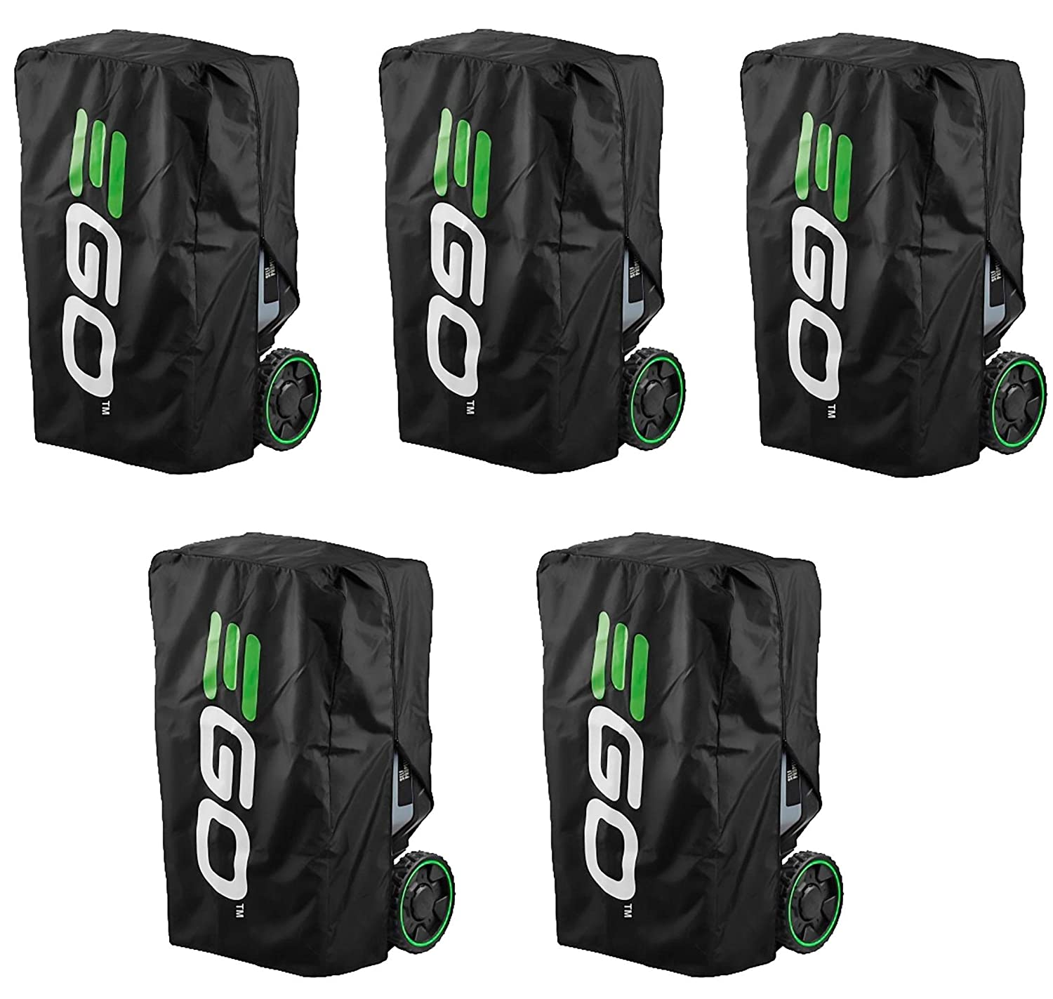 Fivе Расk Dirt and Debris Black EGO Power+ CM001 Cover for Walk-Behind Mower Durable Fabric to Protect Against Dust