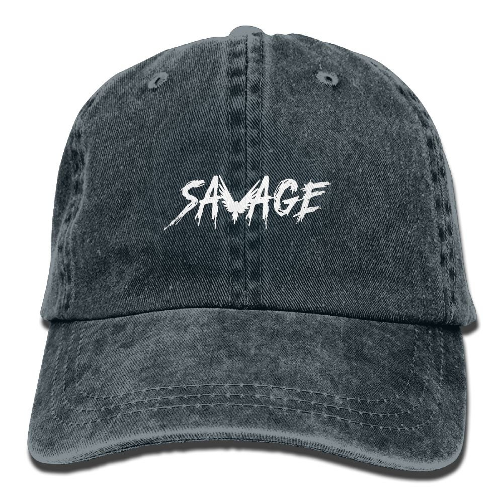 Savage/ Maverick/ Logang Adjustable Vintage Denim Hats