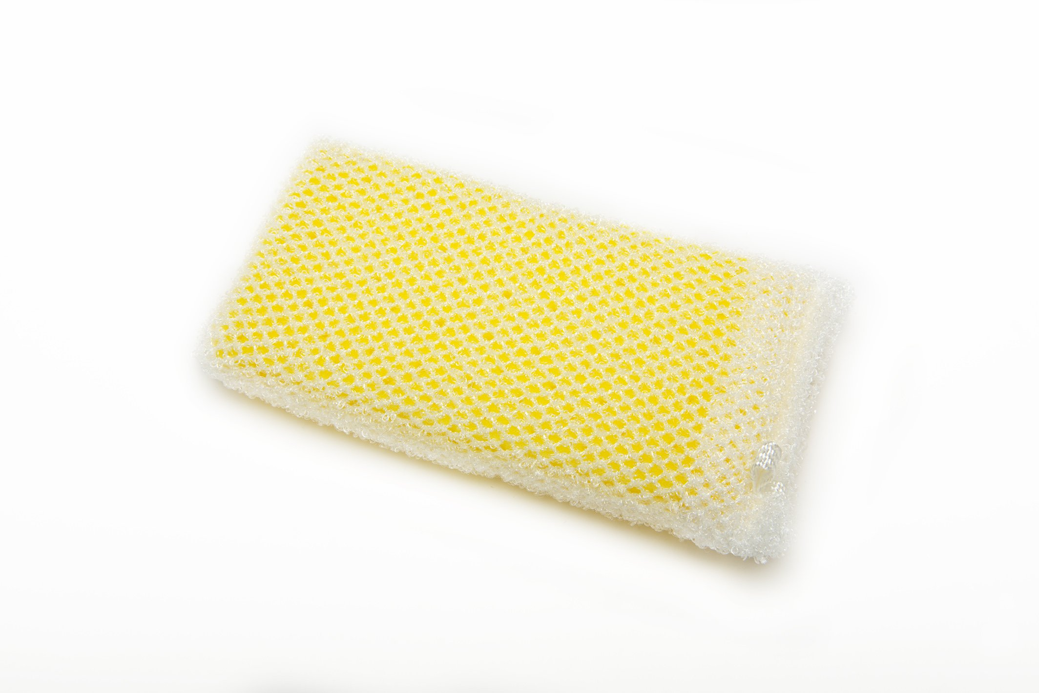 AISEN KS303Y 2 Count Foam and Scrub Sponges (12 Pack), Yellow by AISEN (Image #1)