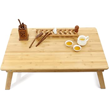 Large Size Bed Table Tray Laptop Desk Foldable Coffee Table,TV Desk  Breakfast Serving Tray