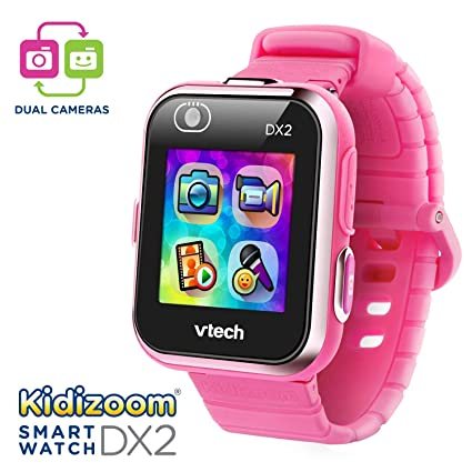 VTech Kidizoom Smartwatch DX2, Pink (Renewed)