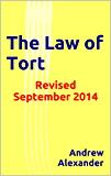 The Law of Tort: Revised September 2014 (English Law Series. Book 13)