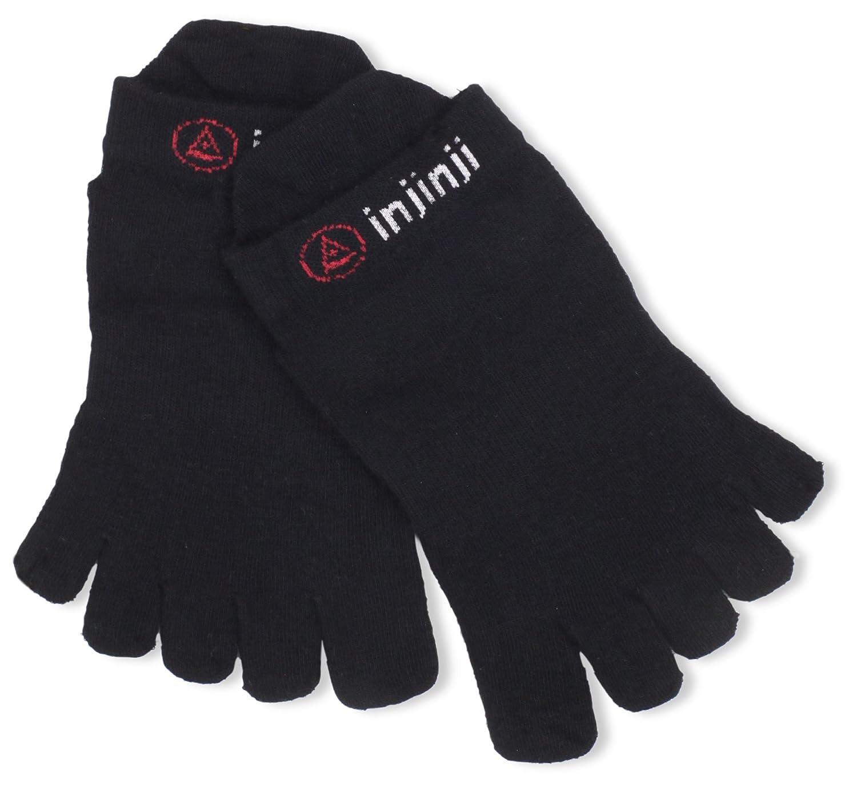 TALLA L 44,5 Eu - 47 Eu. Injinji 2012Rendimiento Ligero No Show–Calcetines de Dedos