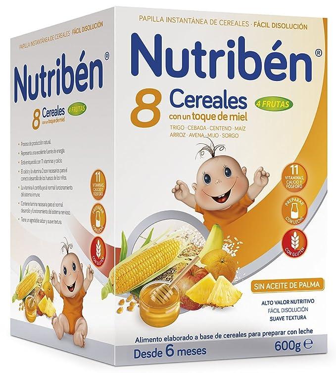Nutribén Papilla 5 Cereales - 600 gr