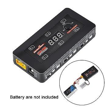 UP-S6 1S LiPo cargador de batería LiPo / LiHV cargador para la lámina Inductrix Tiny Whoop mCX mCPX Micro Losi Conector