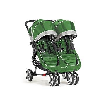 Amazon.com: Baby Jogger City Mini carriola doble, Evergreen ...