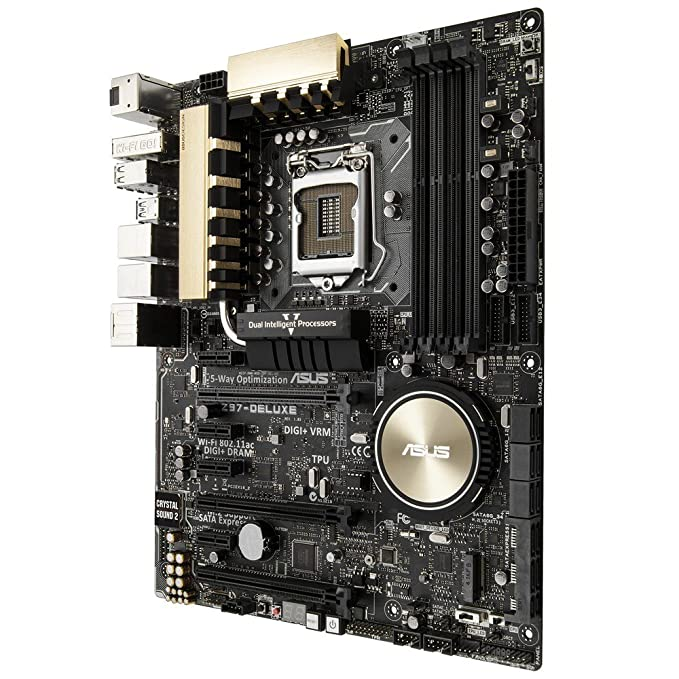 ASUS Z97-Deluxe - Placa Base (Intel Socket 1150, Z97, ATX): Amazon.es: Informática