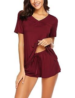 ae22f6fb52 Avidlove Women s Shorts Pajama Set Short Sleeve Sleepwear Nightwear Pjs S- XXL
