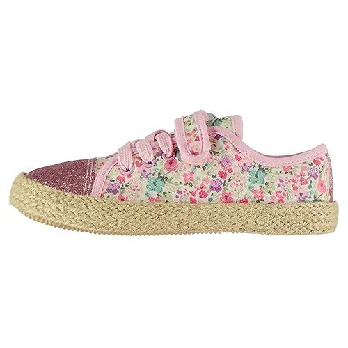 Soulcal Niñas Alpargatas Low Zapatillas De Lona: Amazon.es: Zapatos y complementos