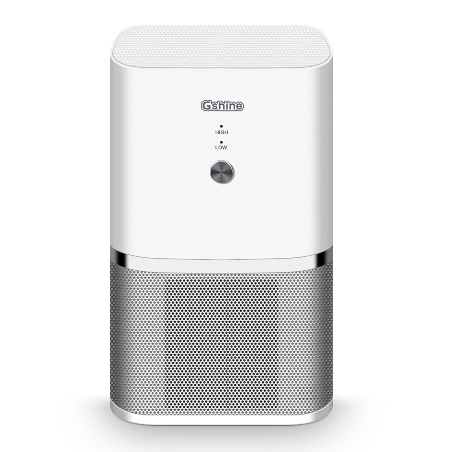 Gshine Air Purifier with HEPA Filter - Portable Quiet Mini Air Purifier Ionizer to Reduce Mold Odor Smoke for Desktop Small Room up to 50 Sq Ft - Travel Air Purifiers for Allergies (Air Purifier)